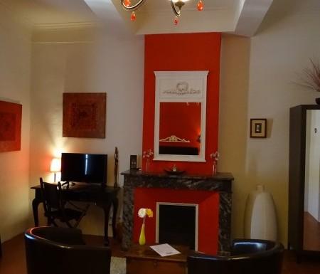 Chambre d'hôtes Merlot climatisation charme Hérault Montagnac salle d'eau